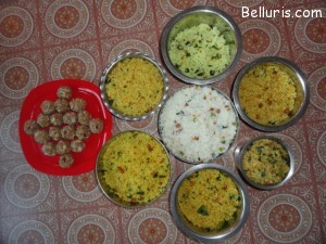 Batukamma dishes