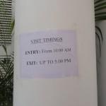 Visit Timings