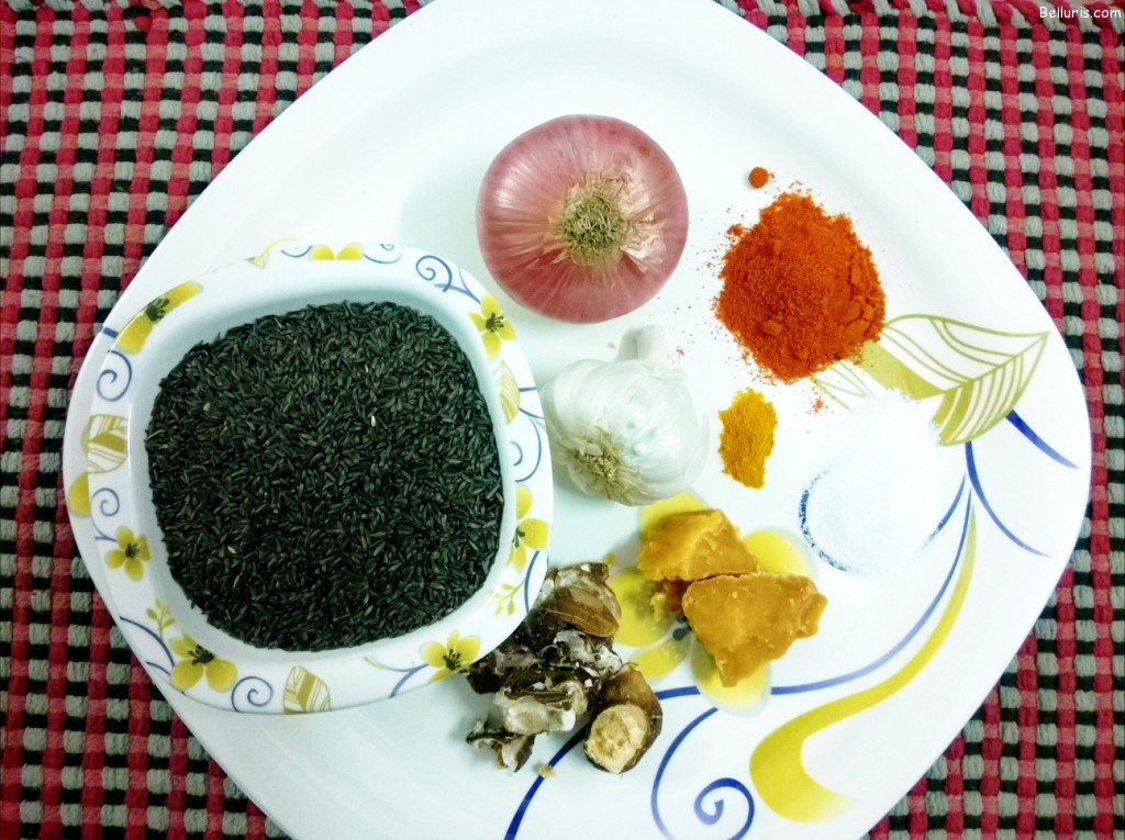 Gaddi Nuvvula Chutney Ingredients