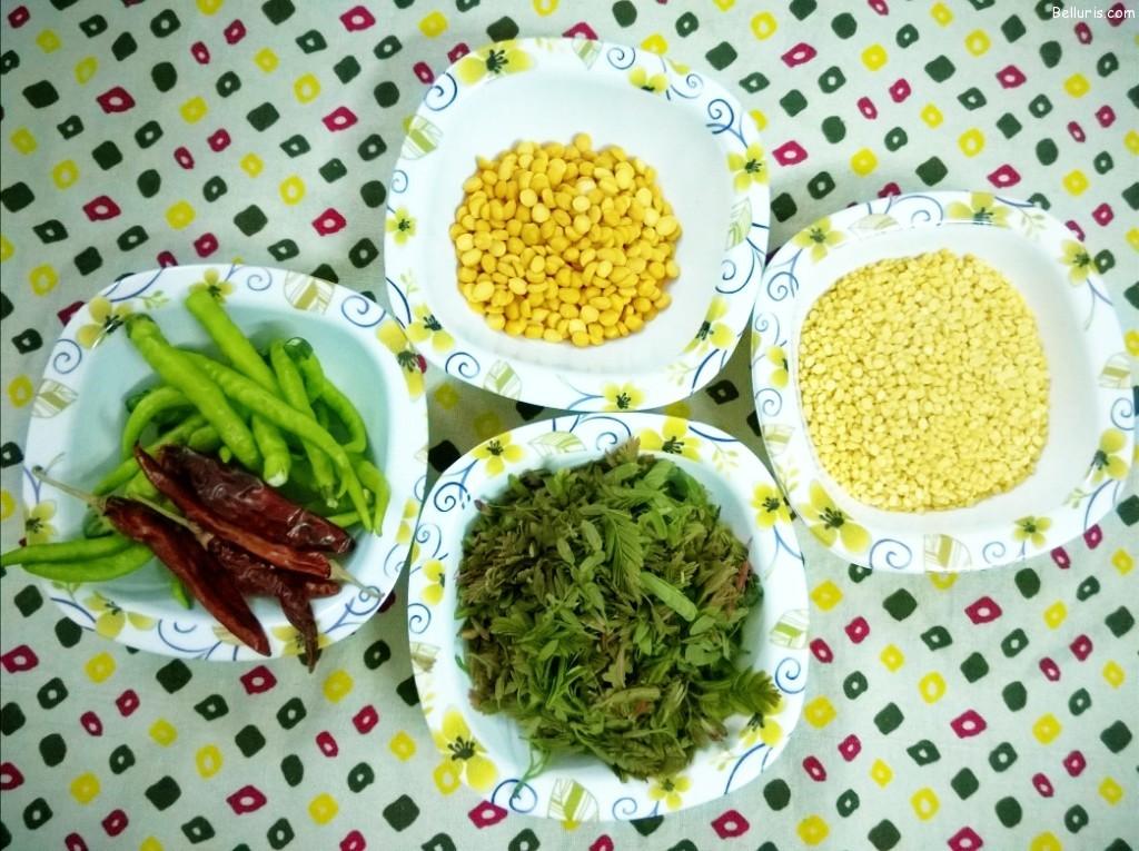 Chinta Chiguru Ingredients