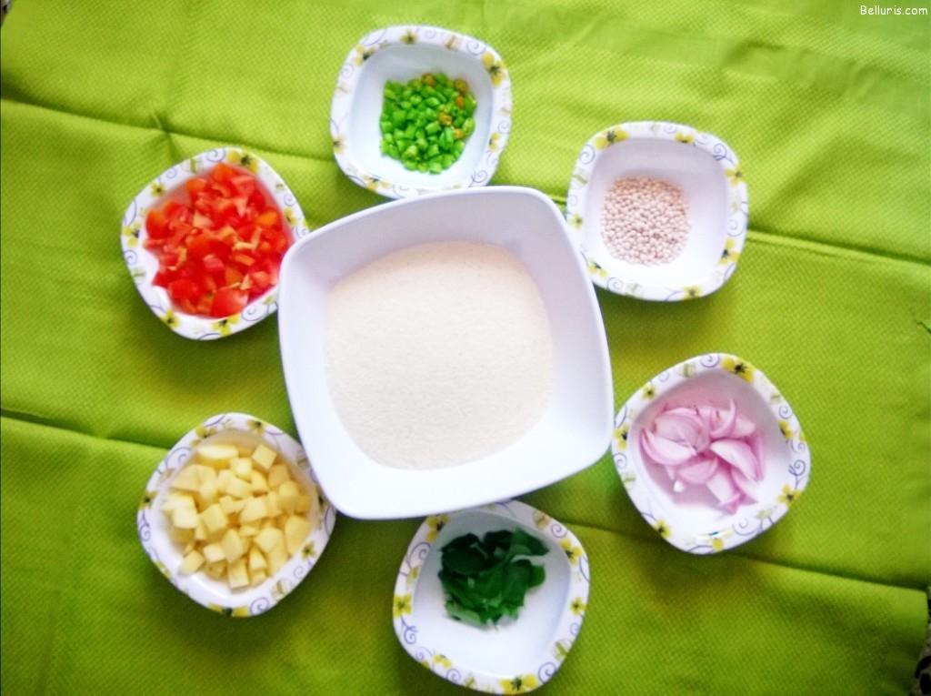 Upma Ingredients