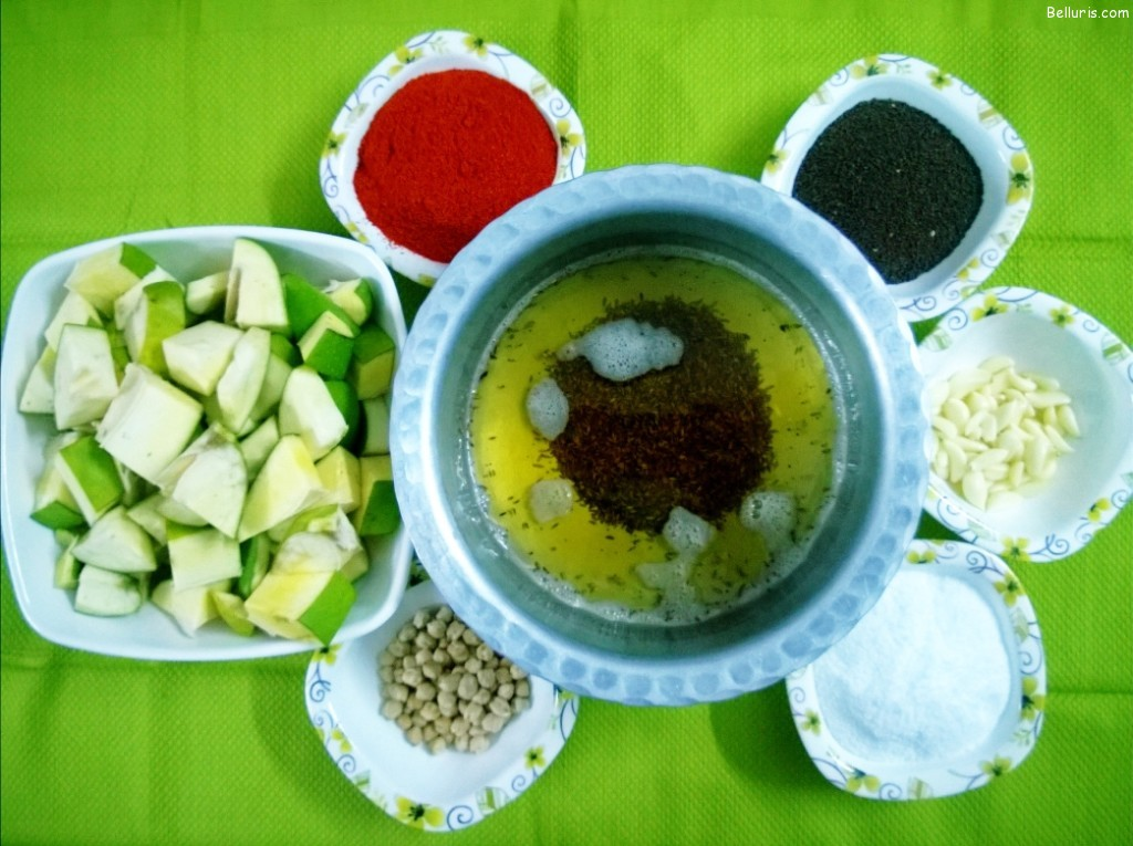 Aavakaya Ingredients