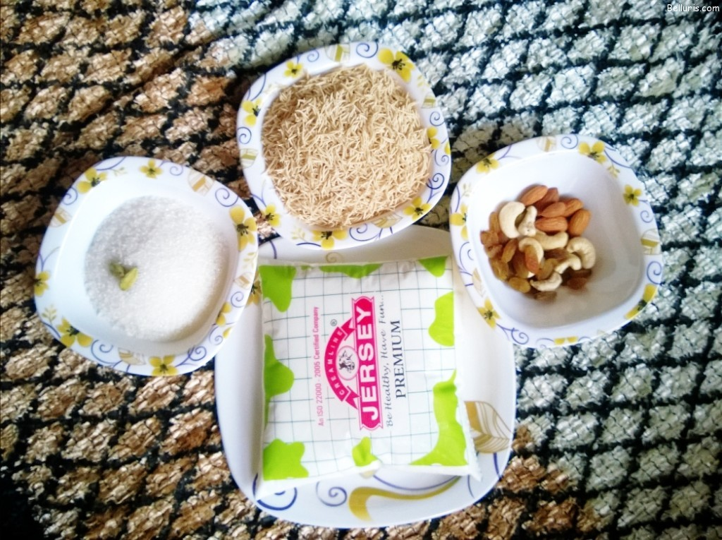 Dosapalukula Kheer Ingredients