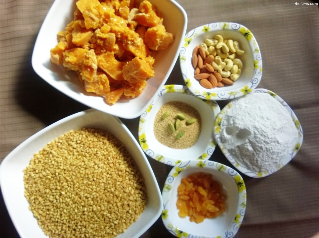 Godumala Payasam Ingredients