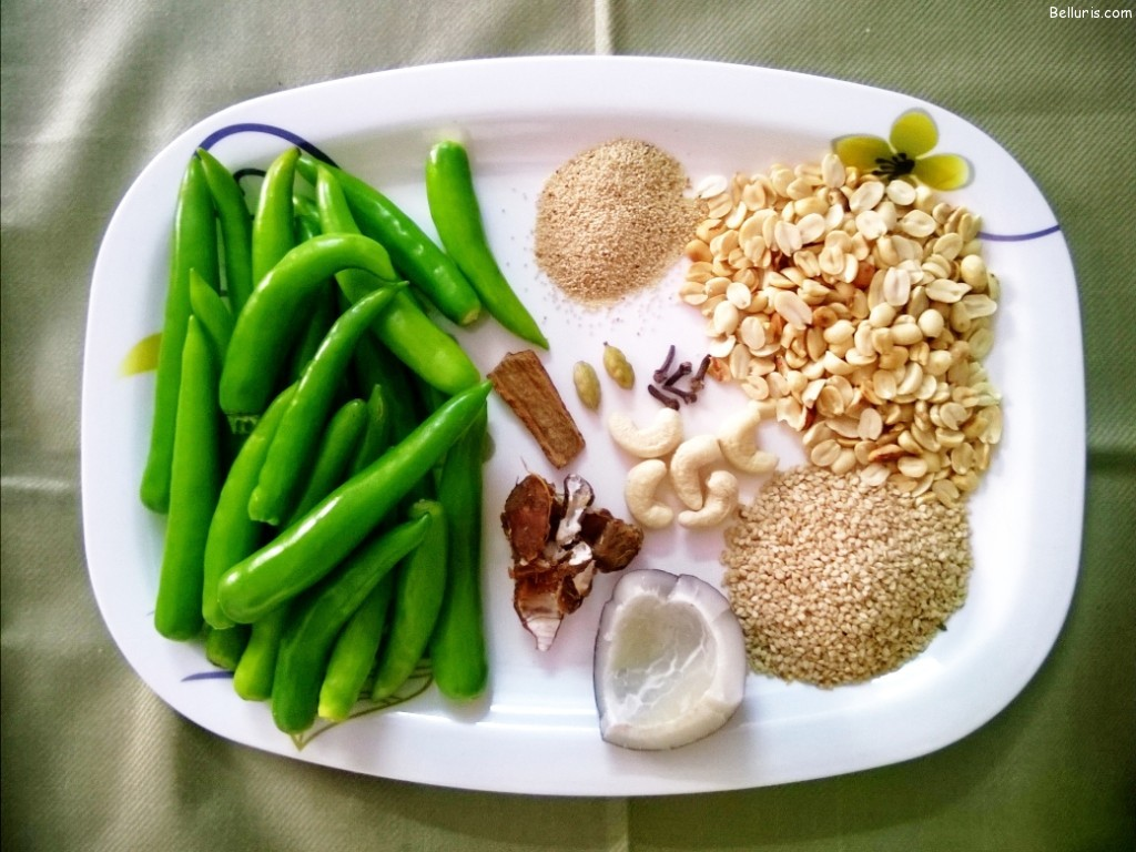 Mirchi Ka Salan Ingredients