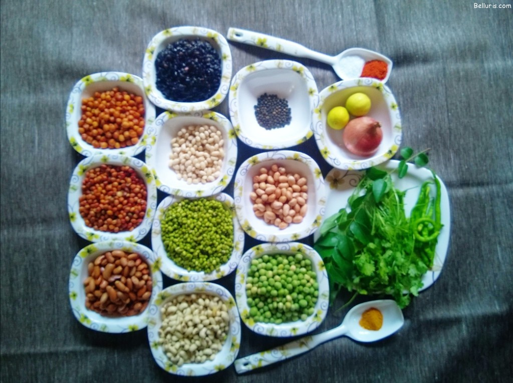 Chatpata Navratan Ingredients