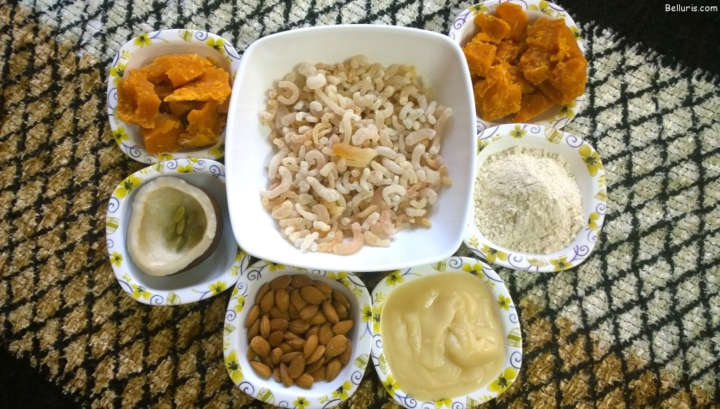 Gond Laddu Ingredients